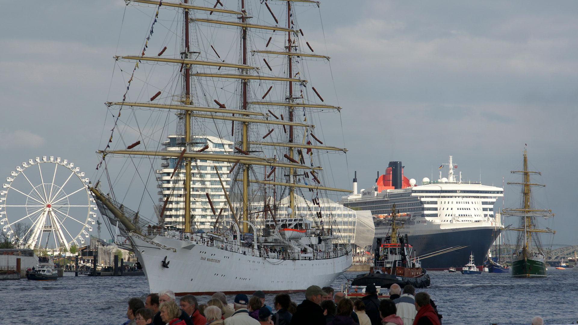 Hafengeburtstag - Abendfahrt