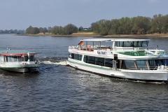 Käpt. Kuddl und St. Nikolaus auf der Elbe
