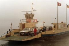 Die Spieker Möwe auf der Elbe (Herbst 1992)