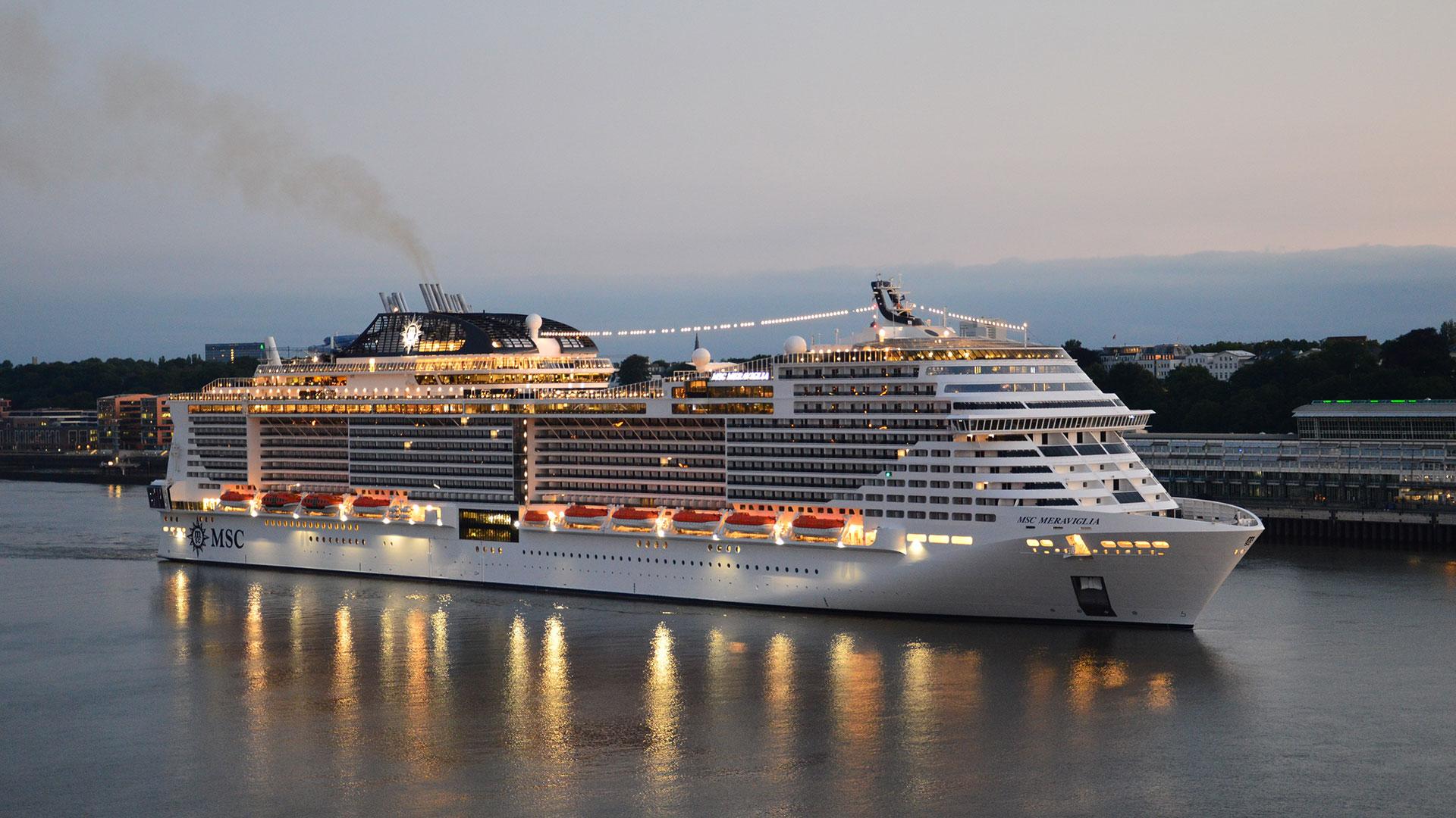 Schiffstaufen 2019 - Hapag Lloyd Hanseatic nature und MSC ...